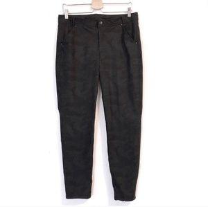 Lululemon Black Camo Pants